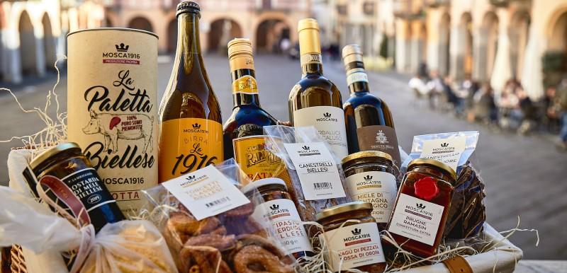 Prodotti tipici biellesi a Biella Piazzo